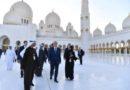 Мемлекет басшысы шейх Заид мешітіне барды