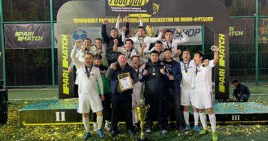 Шымкент: Қазақстан чемпионатында  «Стандарт» футбол командасы жеңіске жетті